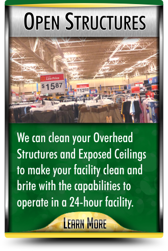 Open Structure Cleaning Services in Columbus Ohio